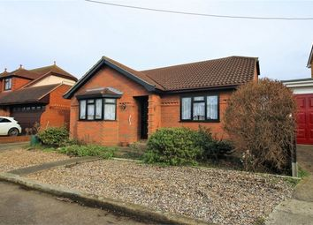 Thumbnail 3 bed detached bungalow for sale in Roosevel Avenue, Canvey Island, Essex