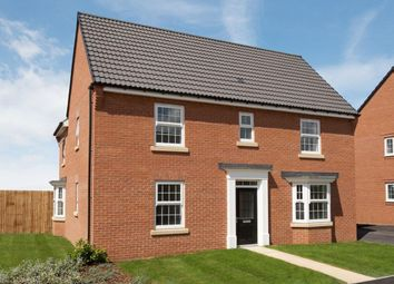"Thumbnail 4 bed detached house for sale in ""Layton"" at Ackworth Road, Pontefract"