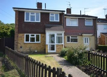Thumbnail 3 bed end terrace house to rent in Mierscourt Road, Rainham, Gillingham
