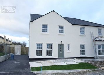 Thumbnail 3 bed semi-detached house for sale in Forde Close, Seaforde, Downpatrick