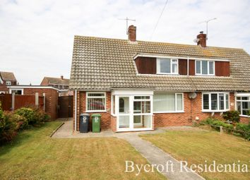 Thumbnail 3 bed semi-detached house for sale in George Beck Road, Winterton-On-Sea, Great Yarmouth