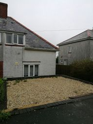 Thumbnail 2 bed semi-detached house to rent in Goronwy Road, Cockett, Swansea