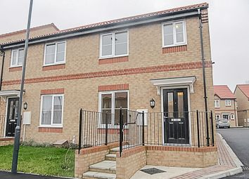 Thumbnail 3 bed semi-detached house for sale in Rosebud Way, Colburn, Catterick Garrison