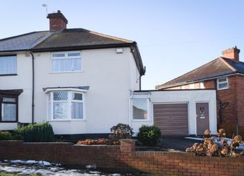Thumbnail 3 bed semi-detached house for sale in Marlow Road, Erdington, Birmingham.
