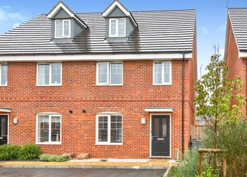 Thumbnail 3 bed town house for sale in Achilles Drive, Norwich