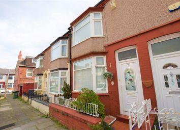 Thumbnail 3 bed terraced house for sale in Fieldside Road, Birkenhead