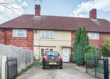 Thumbnail 2 bed terraced house for sale in Weedon Close, Nottingham