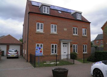 Thumbnail 5 bed detached house to rent in Buttercup Drive, Bourne, Lincolnshire