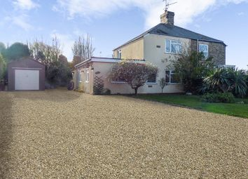 Thumbnail 4 bed semi-detached house for sale in Salts Road, Walton Highway, Wisbech
