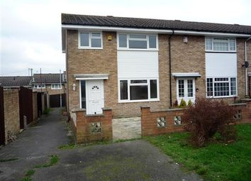 Thumbnail 3 bed end terrace house for sale in Lorton Close, Gravesend