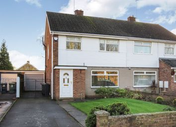 Thumbnail 3 bed semi-detached house for sale in Atherstone Avenue, Peterborough
