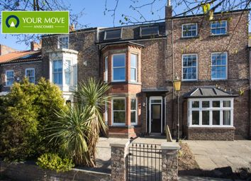 Thumbnail 4 bed terraced house for sale in Heworth Green, York