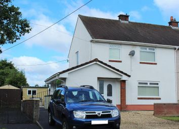 Thumbnail 4 bed semi-detached house for sale in Brynhafod, Tycroes, Ammanford