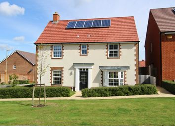 Thumbnail 4 bedroom detached house for sale in Teglease Gardens, Clanfield, Waterlooville