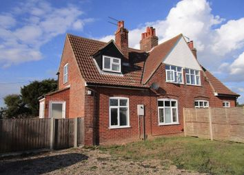 Thumbnail 3 bed semi-detached house to rent in Old Barn Road, Brumstead, Norwich