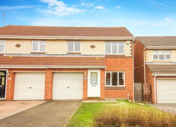 Thumbnail 3 bed semi-detached house to rent in Holyfields, West Allotment, Newcastle Upon Tyne