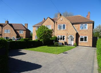 Thumbnail 4 bed semi-detached house for sale in Foan Hill, Swannington, Leicestershire