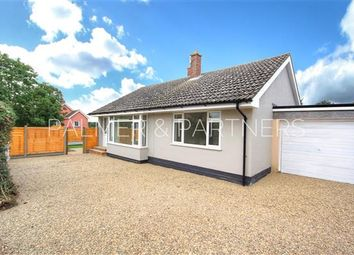 Thumbnail 2 bedroom detached bungalow for sale in New Queens Road, Sudbury