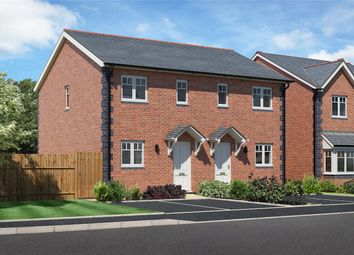 Thumbnail 2 bed semi-detached house for sale in Plot 8, Chelwood View, Crew Green, Powys