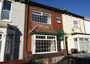 Thumbnail 3 bed terraced house for sale in Sandringham Road, Portsmouth