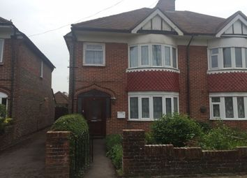 Thumbnail 3 bedroom semi-detached house to rent in Mill Road, Fareham