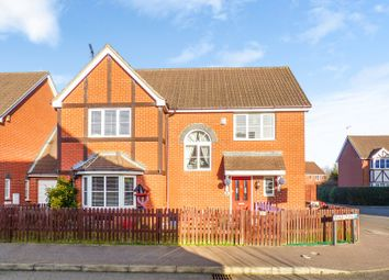 Thumbnail 4 bed detached house for sale in Baird Close, Yaxley, Peterborough