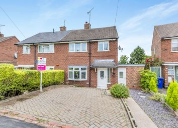 Thumbnail 3 bed semi-detached house for sale in Pennycroft Road, Uttoxeter