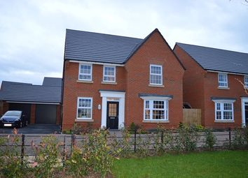 Thumbnail 4 bed detached house for sale in Blandford Way, Market Drayton