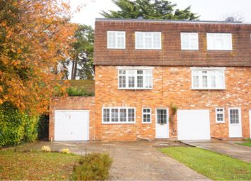 Thumbnail 4 bed end terrace house for sale in Fieldhead Gardens, Bourne End