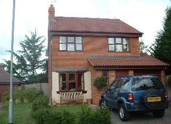 Thumbnail 4 bed detached house to rent in Kepax Gardens, Worcester
