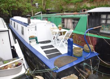 Thumbnail 1 bedroom houseboat for sale in Radleys Town Wharf, Catherine Wheel Road, Brentford, Middlesex