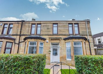 Thumbnail 3 bed flat for sale in Albany Avenue, Glasgow
