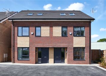 Thumbnail 4 bed semi-detached house for sale in Hornbeam Court, Park Road