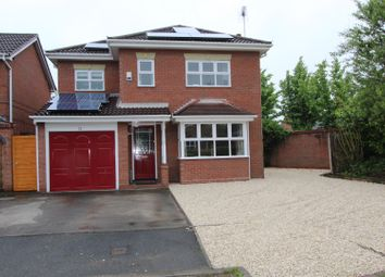 Thumbnail 4 bed detached house to rent in Sandford Brook, Hilton, Derby