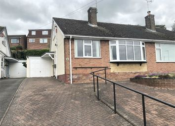 Thumbnail 3 bed semi-detached bungalow for sale in Enderby Rise, Burton-On-Trent, Staffordshire
