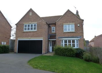 Thumbnail 4 bed detached house for sale in Kinross Road, Greylees, Sleaford