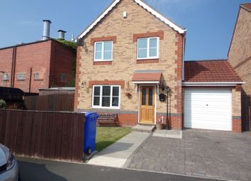 Thumbnail 4 bed detached house for sale in Millcroft Court, Blyth