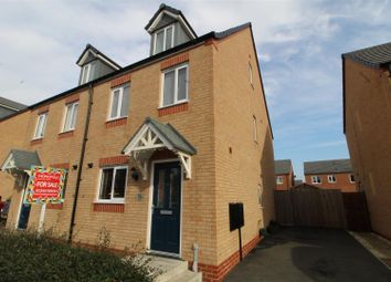 Thumbnail 3 bed semi-detached house for sale in Chestnut Way, Penyffordd, Chester