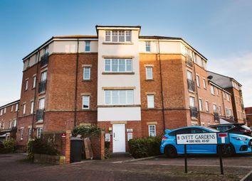 Thumbnail 2 bed flat for sale in Ovett Gardens, Gateshead