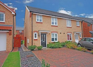 Thumbnail 3 bed semi-detached house to rent in Edgehill Gardens, Brotton, Saltburn-By-The-Sea