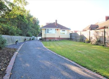 Thumbnail 3 bed detached bungalow for sale in Botany Bay Road, Southampton
