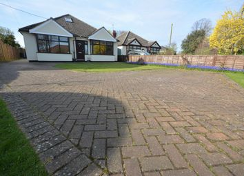 Thumbnail 3 bedroom detached bungalow for sale in Cotmer Road, Carlton Colville, Lowestoft