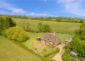 Thumbnail 4 bed detached house for sale in Thatched Cottages, Carters Clay, Lockerley, Romsey