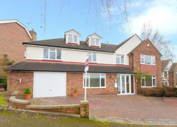 Thumbnail 4 bed detached house for sale in Hill Rise, Cuffley, Potters Bar, Hertfordshire
