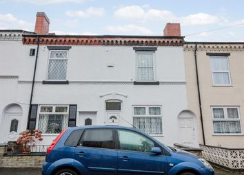Thumbnail 2 bed terraced house for sale in Florence Road, West Bromwich, West Midlands
