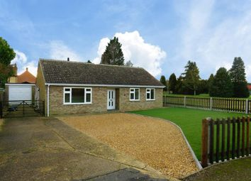 Thumbnail 3 bedroom detached bungalow to rent in School Lane, Northwold, Thetford
