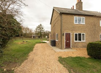 Thumbnail 2 bed semi-detached house to rent in Elsworth Road, Boxworth