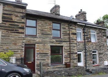 Thumbnail 3 bed terraced house for sale in Tyn Y Maes, Ffestiniog, Blaenau Ffestiniog, Gwynedd