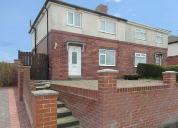 Thumbnail 3 bedroom semi-detached house for sale in Westway, Throckley, Newcastle Upon Tyne