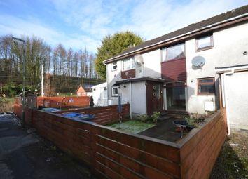 Thumbnail 1 bed flat for sale in Lamont Crescent, Renton, Dumbarton